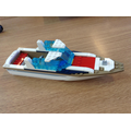 We are working together to build a boat.