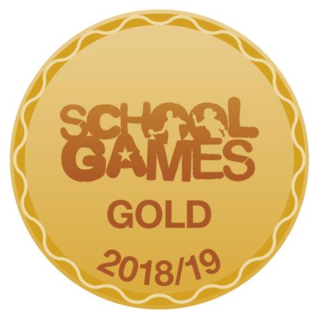 We achieved the School Games GOLD award!