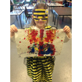 See how the primary colours mix together.