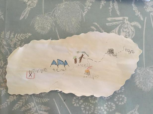 Amazing Treasure Map