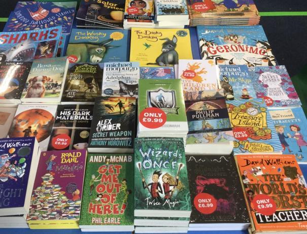 Books chosen by our children