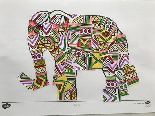 Elephant Art - Mindfulness Activity