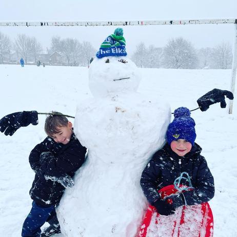 Amazing Snowman.