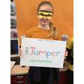 Jumper - homophone.