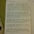 Wow Tess, more super writing - well done!