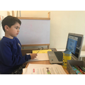 Dilian (Lincoln Class) having remote lessons.