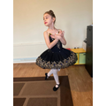 Gabrielle ( Lincoln Class) having online Ballet lessons