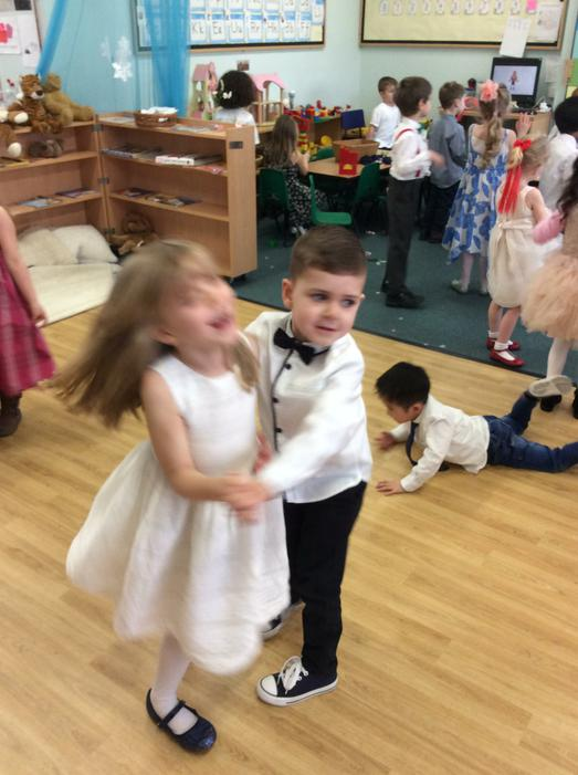 ...and had lots of fun dancing!