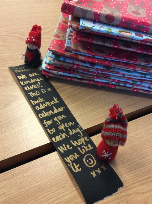 Our book advent calendar from the kindness elves!