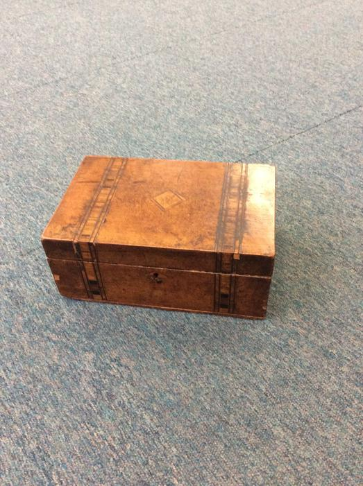 A mysterious box appeared in our classroom!