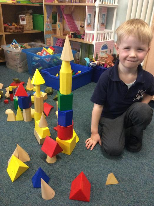 Building castles with 3D shapes