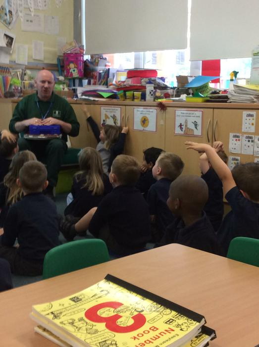 We interviewed Mr Jago to find out about his job.