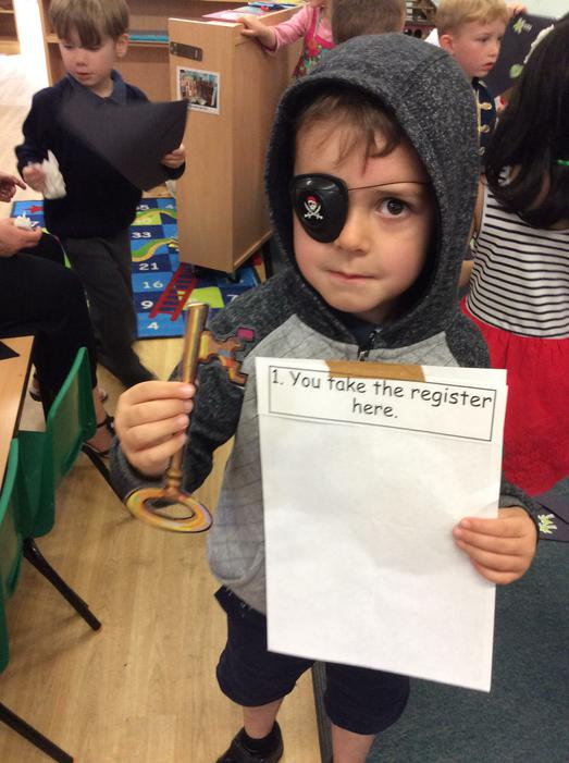 We followed the clues to rescue Charlie Chimp..