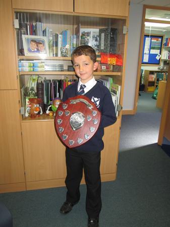 Football Award. Congratulations!