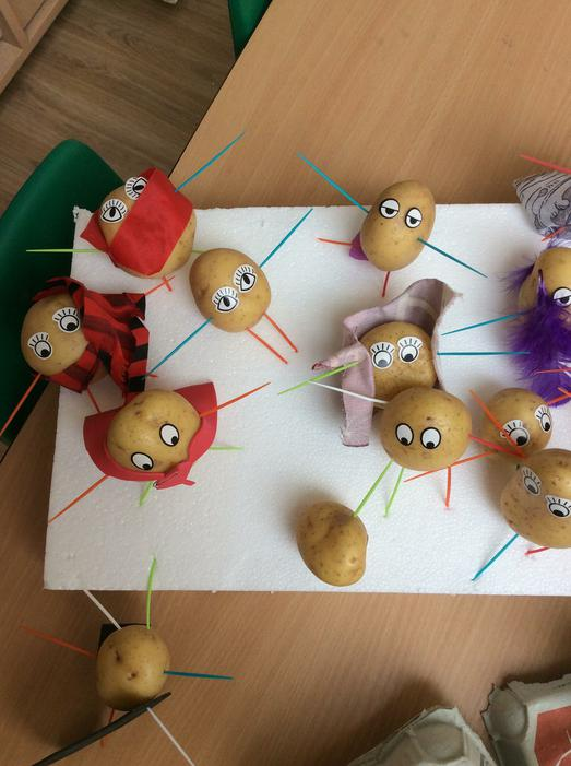 Some of our fantastic super potatoes!