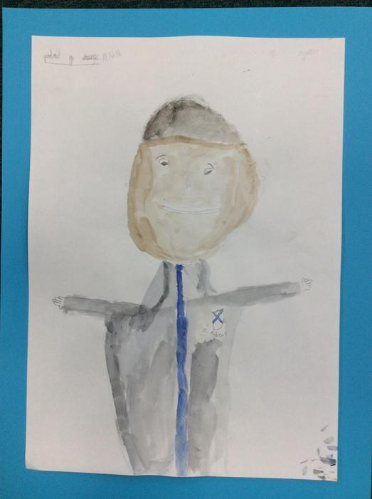 A self portrait by Ayaan