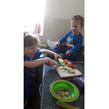 Science and cookery - exploring plants and seeds.
