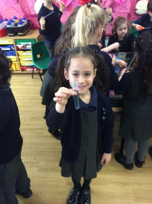 We were all very proud of our potions!