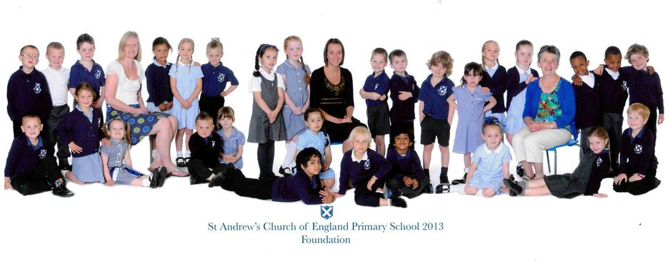 Foundation with Miss Keaty and Mrs Pellow 2013