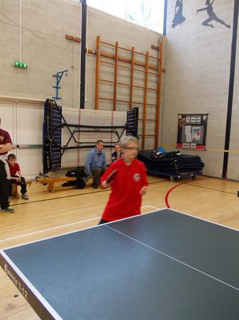 Table tennis tournament 2013