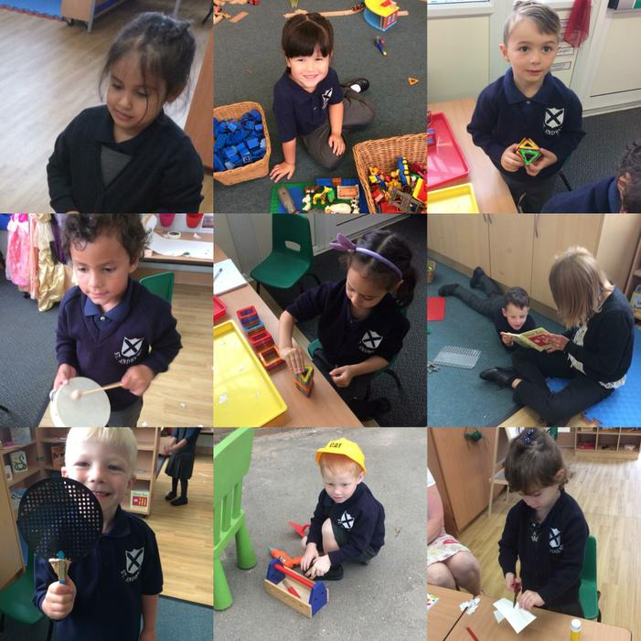 Our first week at school!