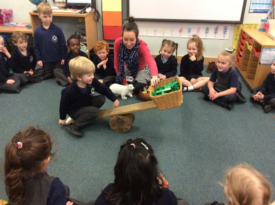 Making our own giant scales...