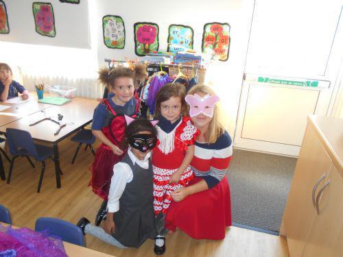 We had great fun dressing up!