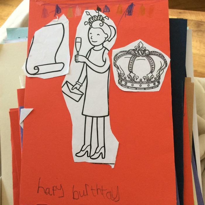 ..and made some 90th birthday cards as well!