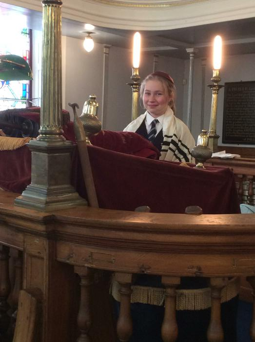 Emma was the Rabbi.