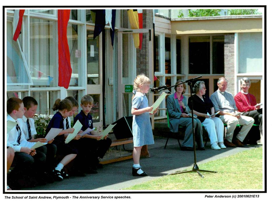 40th anniversary of the school 2001
