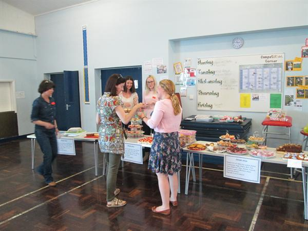 The Devonport Fire Cake and Book sale