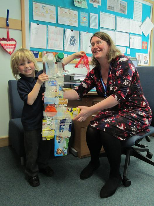 Impressing Mrs Allchurch!