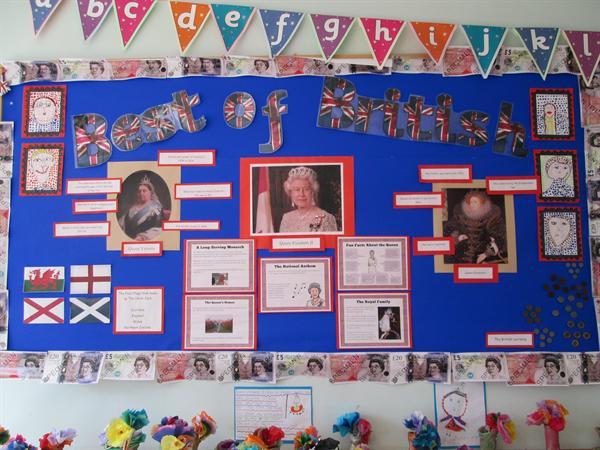Year 2 classroom display