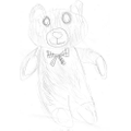Aidan's teddy sketch