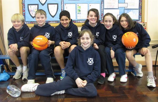 Netball team Spring 2014