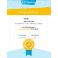 You did it Yohan ... a Mathletics GOLD award 🏆