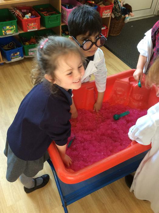 Gelli bath was lots of fun!
