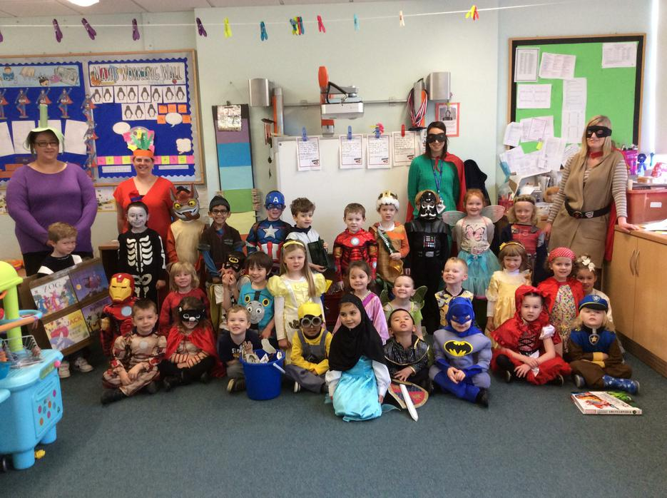All our fantastic World Book Day costumes!