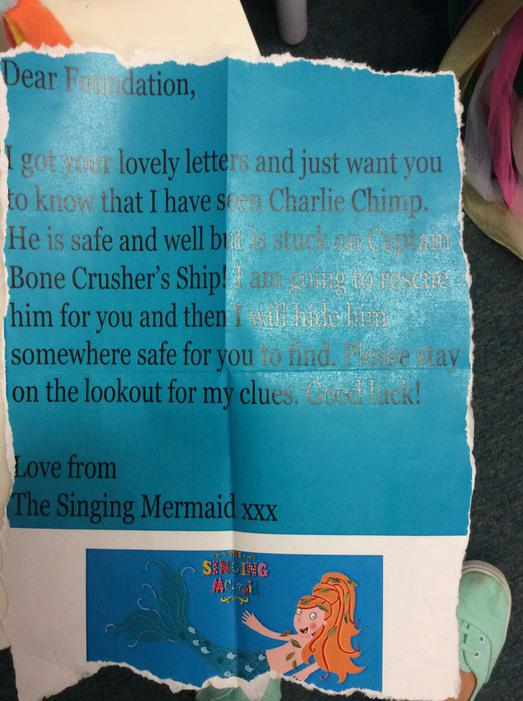 The Singing Mermaid offered us her help.