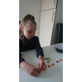 Maths with Smarties ... a good plan Iyla!