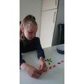 Maths with Smarties ... a good plan Iyla!