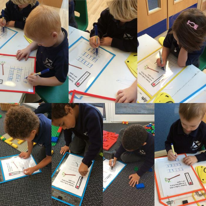 We are learning about numbers.