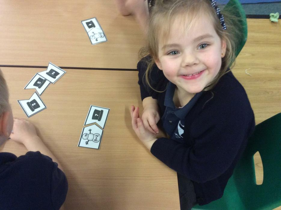 We are learning to add numbers together.