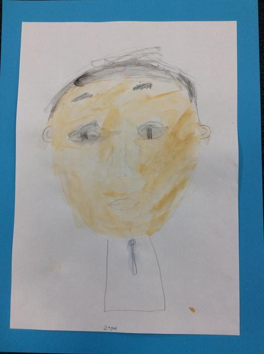 A self portrait by Zeyad