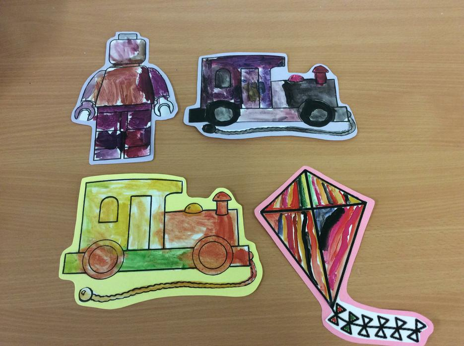 We created colourful toys 🎨