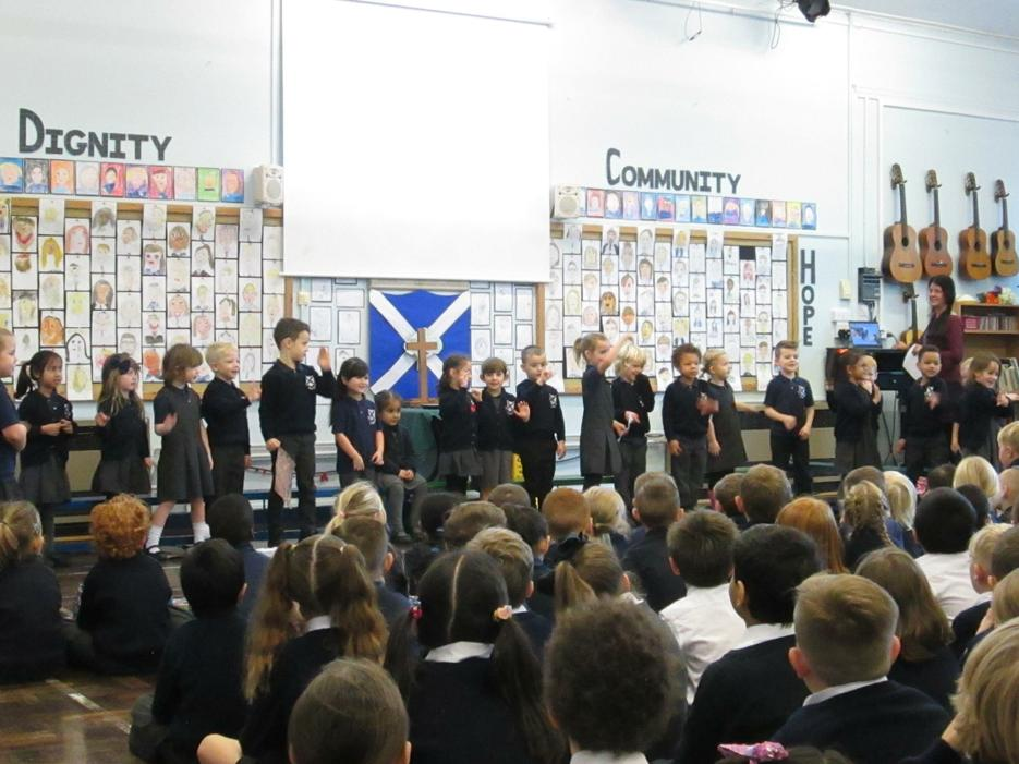 Foundation's first assembly!