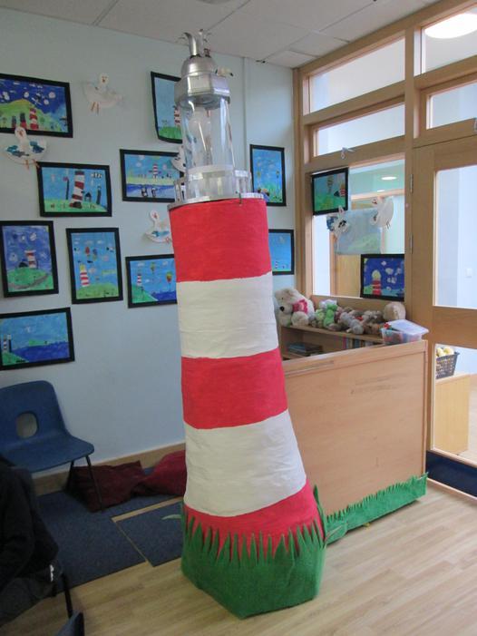 Year 2's amazing lighthouse!
