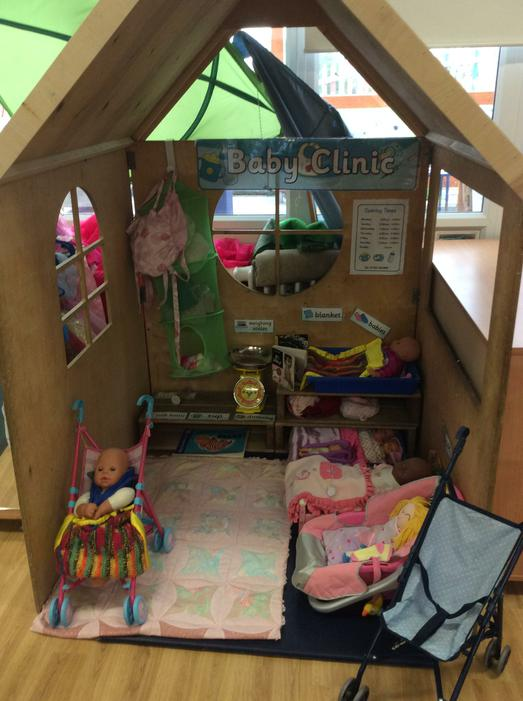 Role play baby clinic