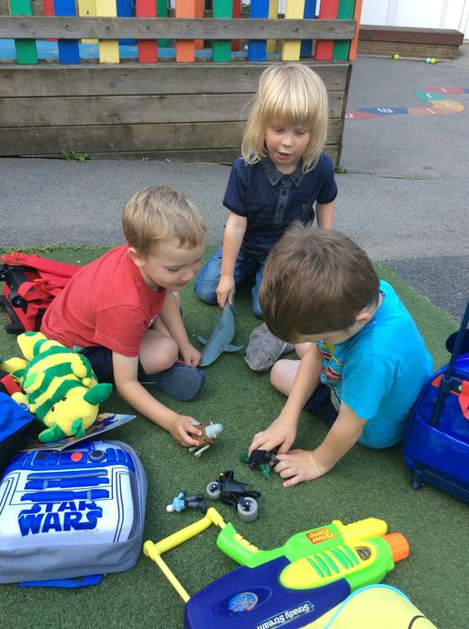 Sharing our toys