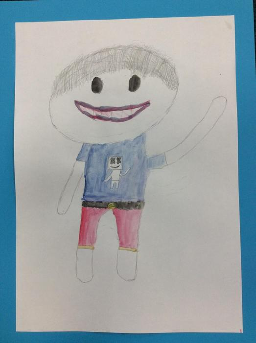 A self portrait by George